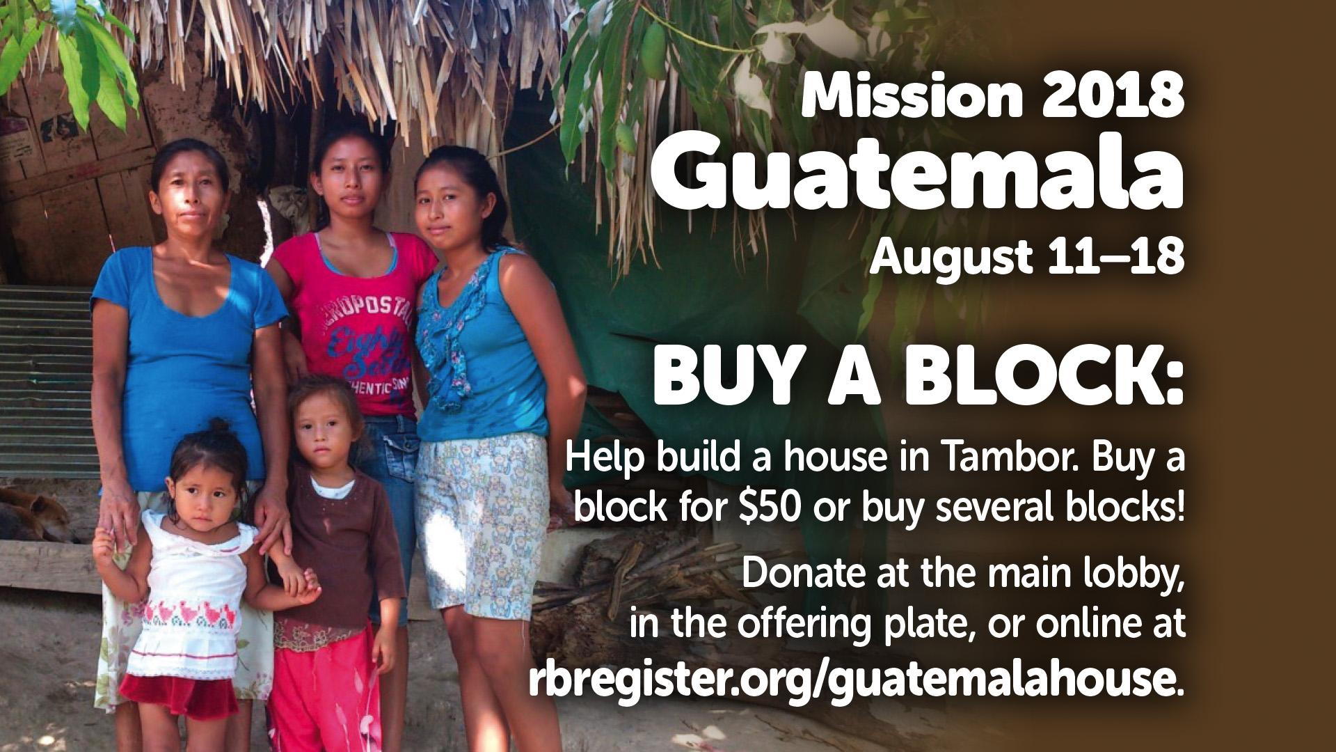Guatemala Block class=