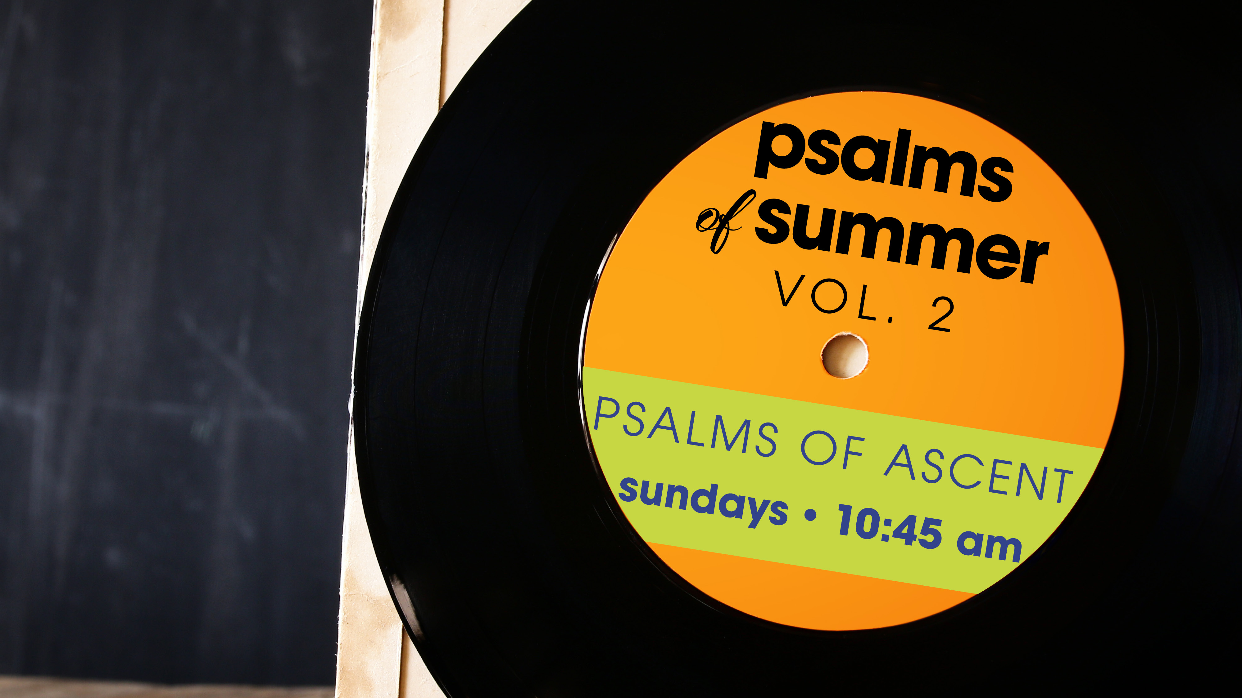 Psalms of Summer Vol 2. Series