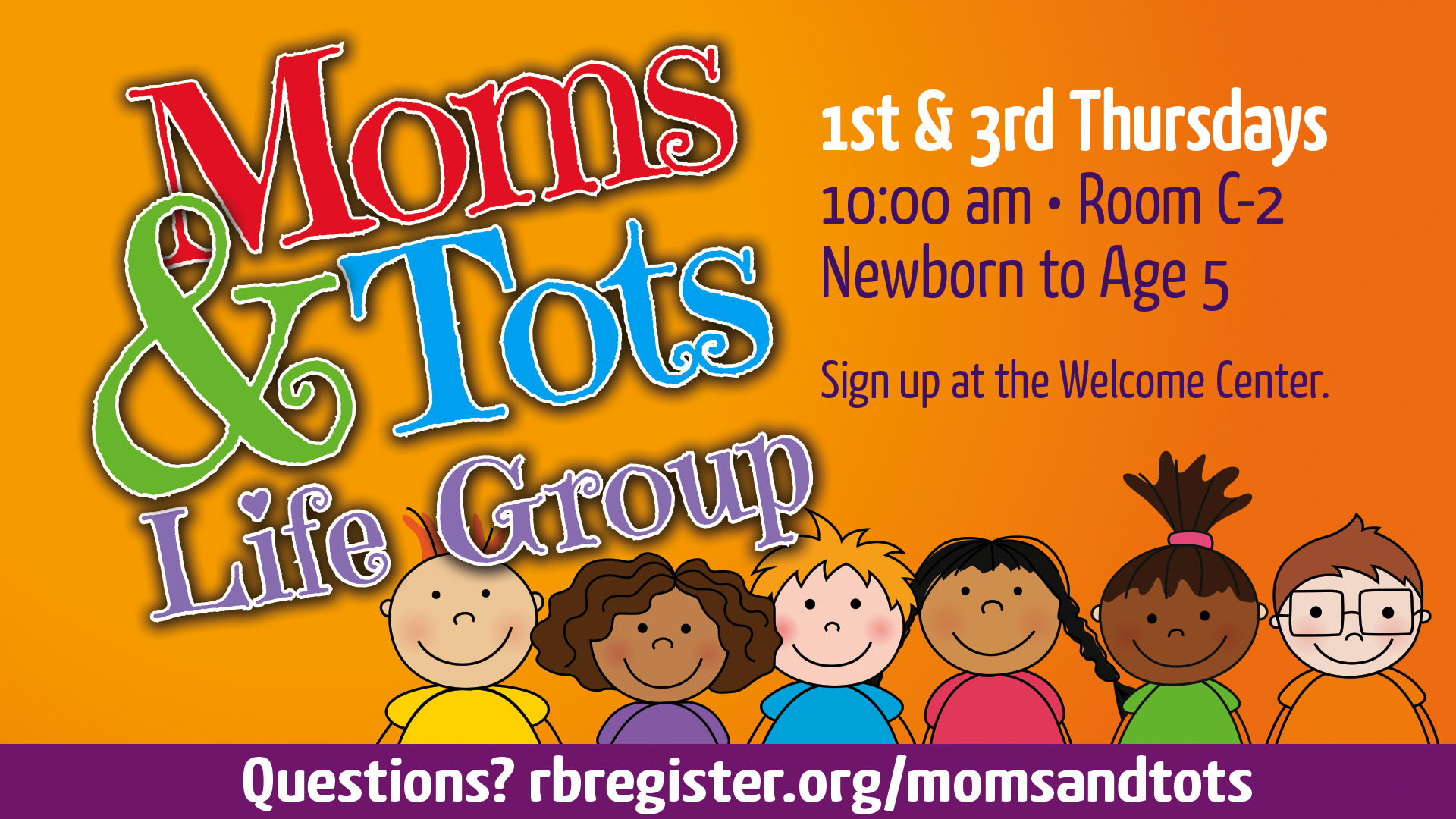 Moms and Tots Life Group