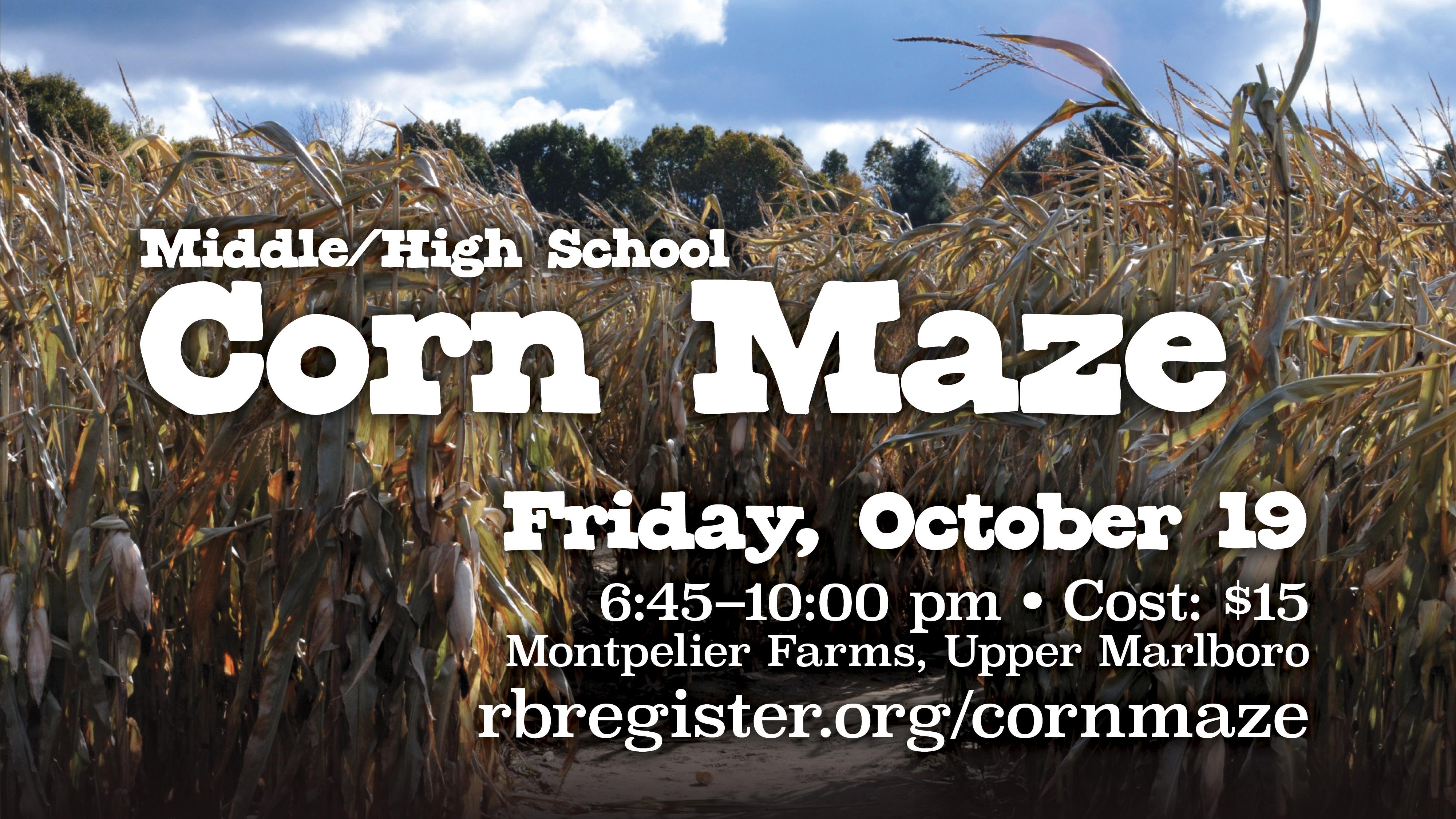 RSM Corn Maze