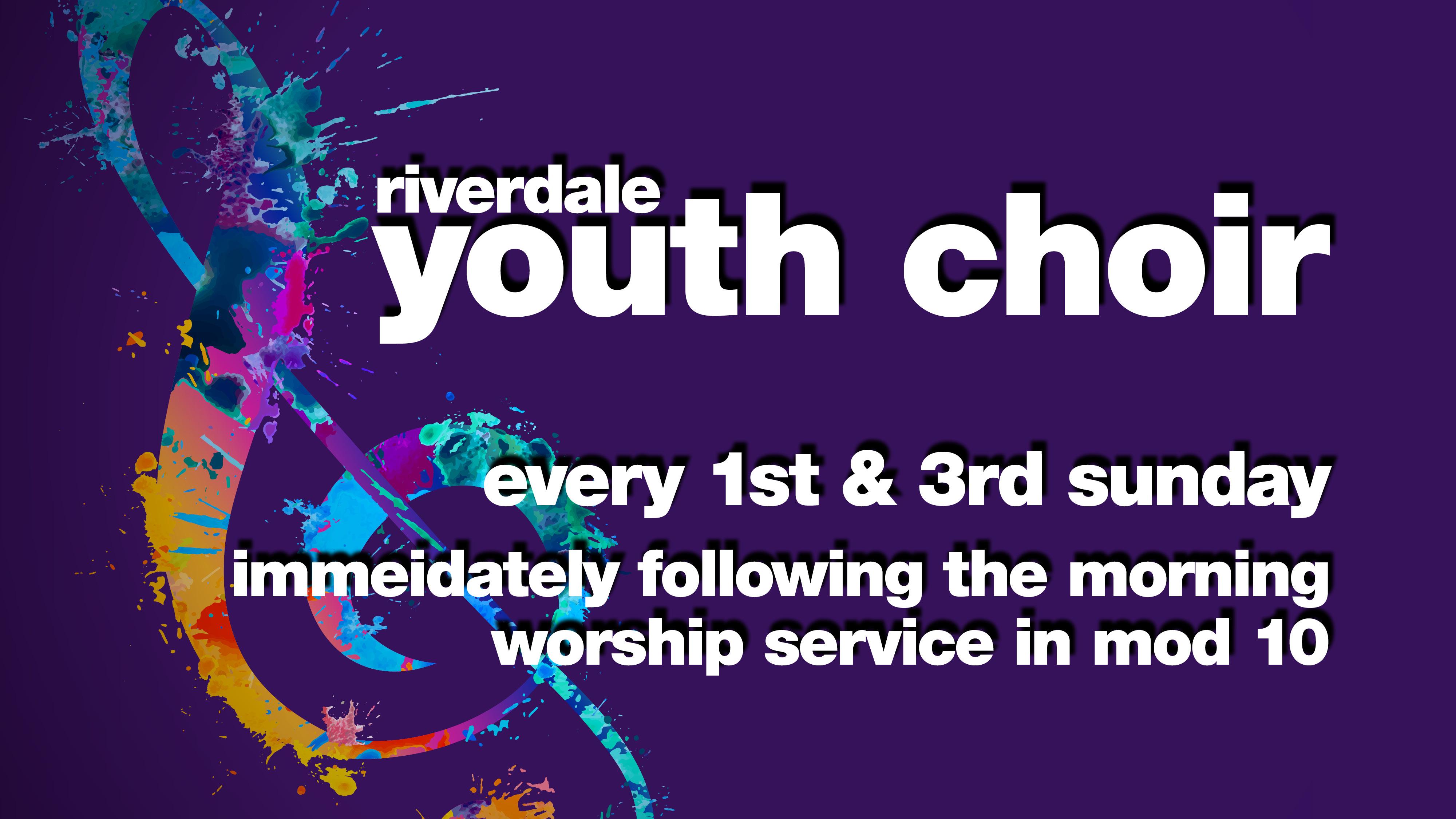 Youth Choir Rehearsal class=